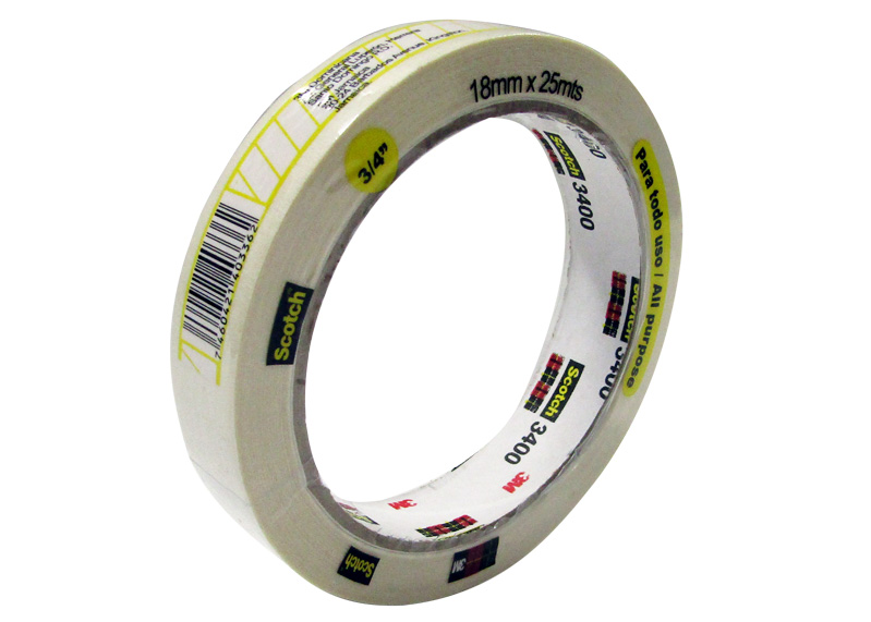 "MASKING TAPE SCOTCH 3/4""x25mts (18mm x 25m) XG-7000-05-19"