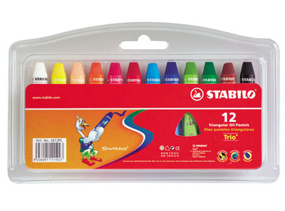CRAYOLA DE 12 COLORES TRIANGULAR BLISTER