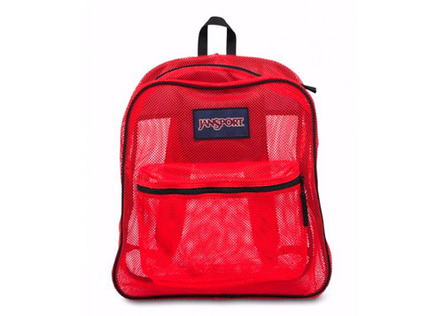 MOCHILA MESH PACK HIGH RISK RED