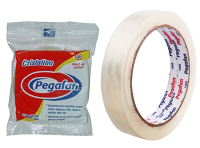 "TAPE TRANSPARENTE 3/4"" x 50 YARDAS"