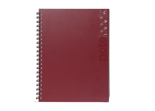 CUADERNO PASTA DURA MATRA LIGHT BURGUNDY 19.1X26.5 CM