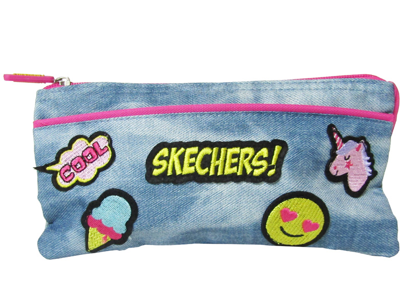 CARTUCHERA MILO 23X11X7CM SKECHERS