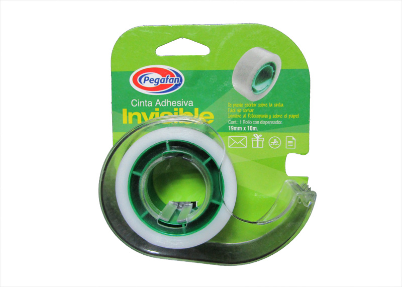 "TAPE MAGICO 3/4""x10M CON DISPENSADOR"
