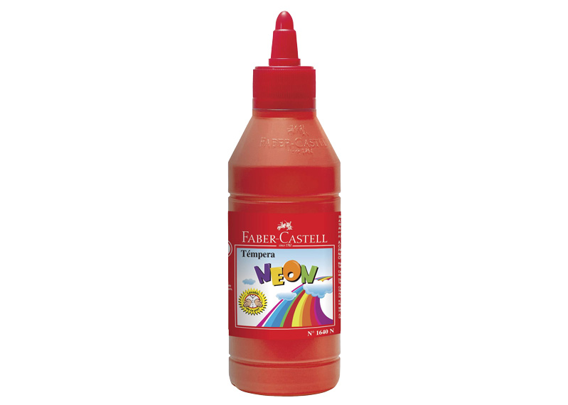 TEMPERA ROJA NEON 125ml