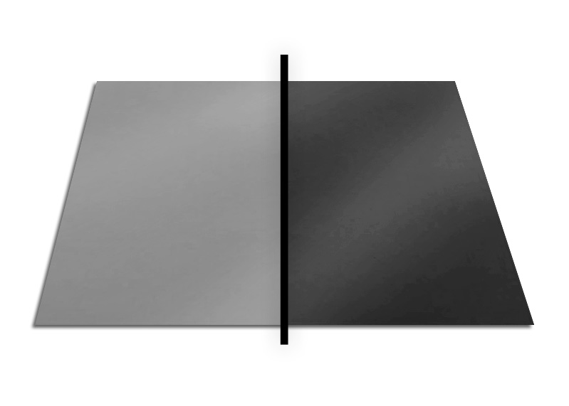 CARTULINA FLASH GRIS/NEGRO 50X65CM 180GR REFLECT