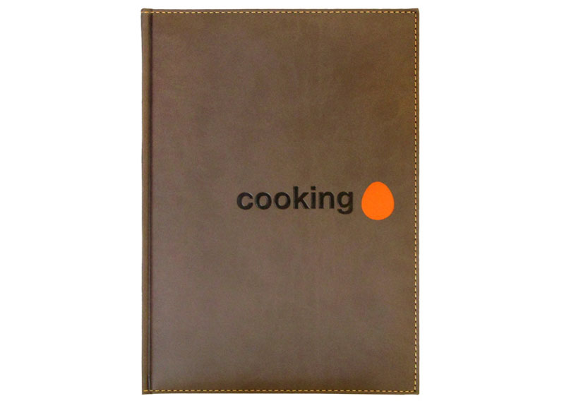 CUADERNO PROFESIONAL CAFE 17,2x24 320 Pag. 80 gr