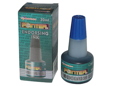 TINTA PARA SELLO AZUL 30ml