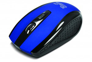 MOUSE OPTICO INALAMBRICO AZUL (Klever)