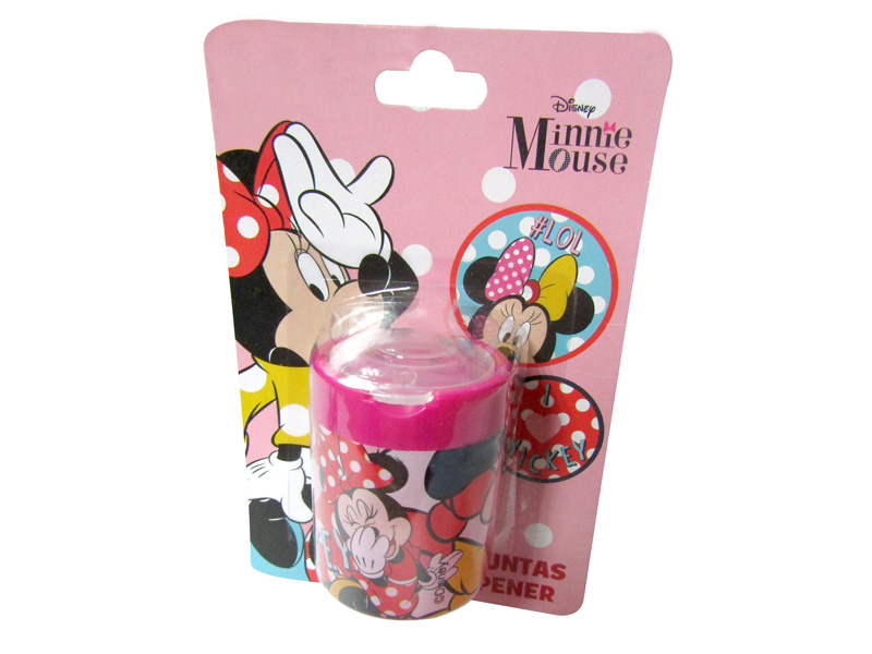 SACAPUNTA BLISTER DOBLE REDONDO MINNIE 5+