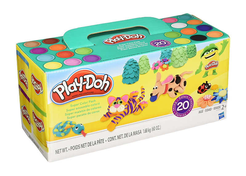 PLAY-DOH SUPER COOL PACK 20 PCS