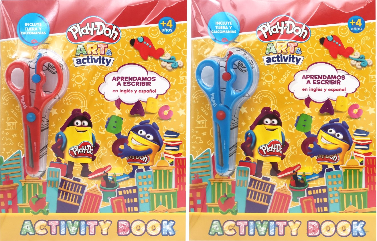 ACTIVITY BOOK PLAYDOH (SURTIDOS) (E)