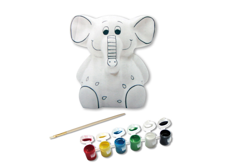 ALCANCIA DE PORCELANA PARA DECORAR FIG. ELEFANTE