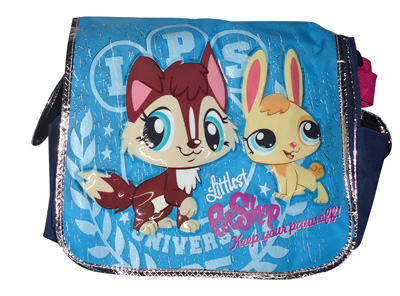 BOLSO 3 DEPOSITOS (LITTLE PETS SHOP)