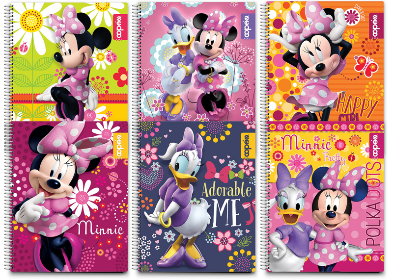 CUADERNO COSIDO GRANDE 100-200H RAYA MINNIE MOUSE BOUTIQUE