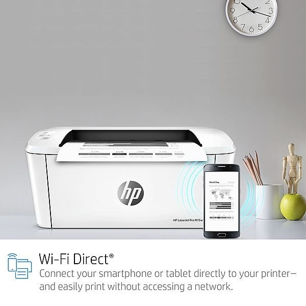IMPRESORA HP LASERJET PRO M15W WIFI-DIRECT