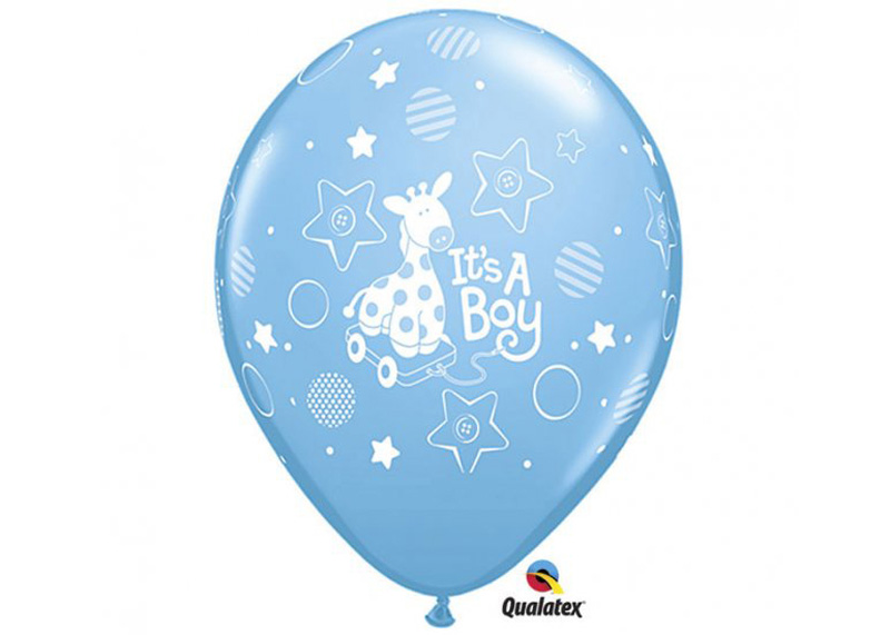 "GLOBO ""11"" IT´S A BOY SOFT GIRAFFE"