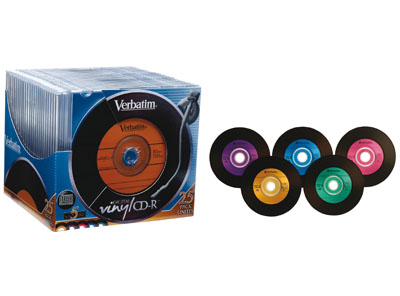 DISCO (CD) GRABABLE DIGITAL VINYL 700MB 52X 80min CAJAS 1/25 Unidades