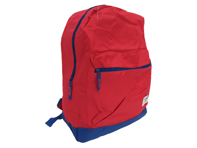"MOCHILA 16.5"" ROJO BORDADOS FULL COLOR"