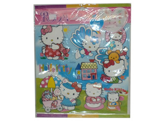 "CALCOMANIA HELLO KITTY 11.5""X11.5"""