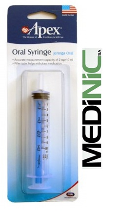 Jeringa Oral