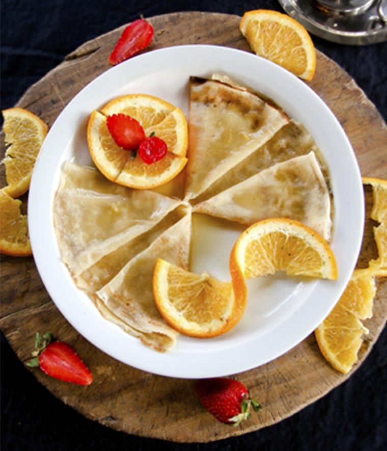 Crepa de Naranja