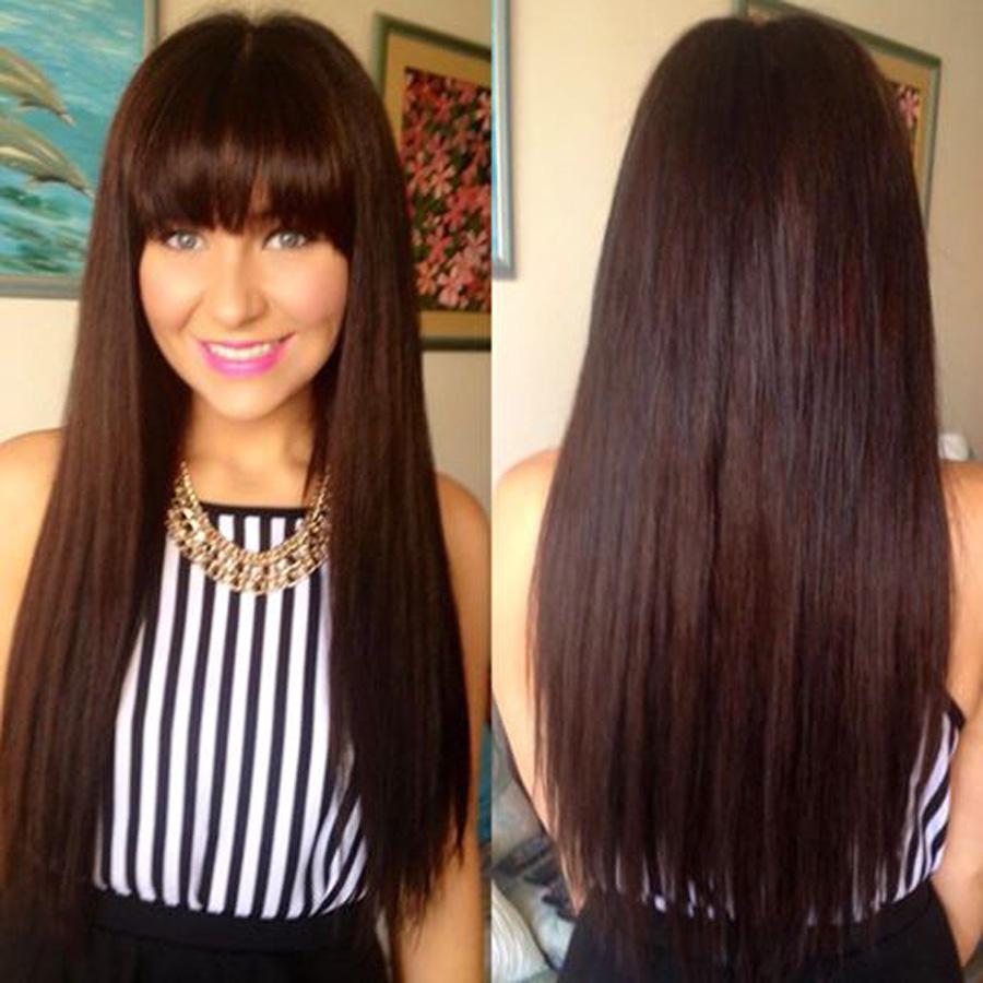 Extension de cabello Solo Green Yaki lisa 2