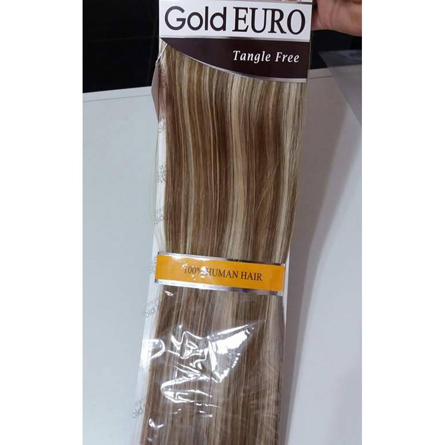 Extension de Cabello Gold euro soprano lisa 20