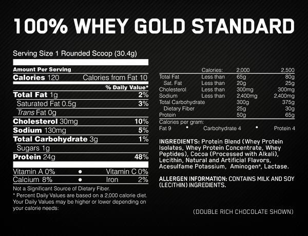 Gold Stándard 100% Whey