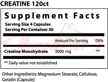CREATINE CAP 3000MG