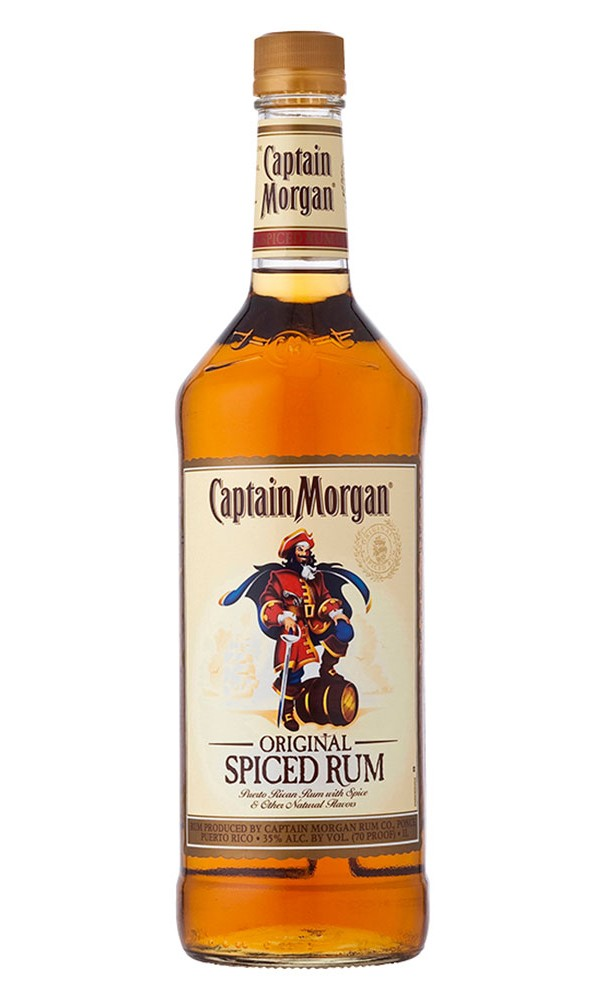 CAPITAN MORGAN'S ORIGINAL SPICED DARK REG.