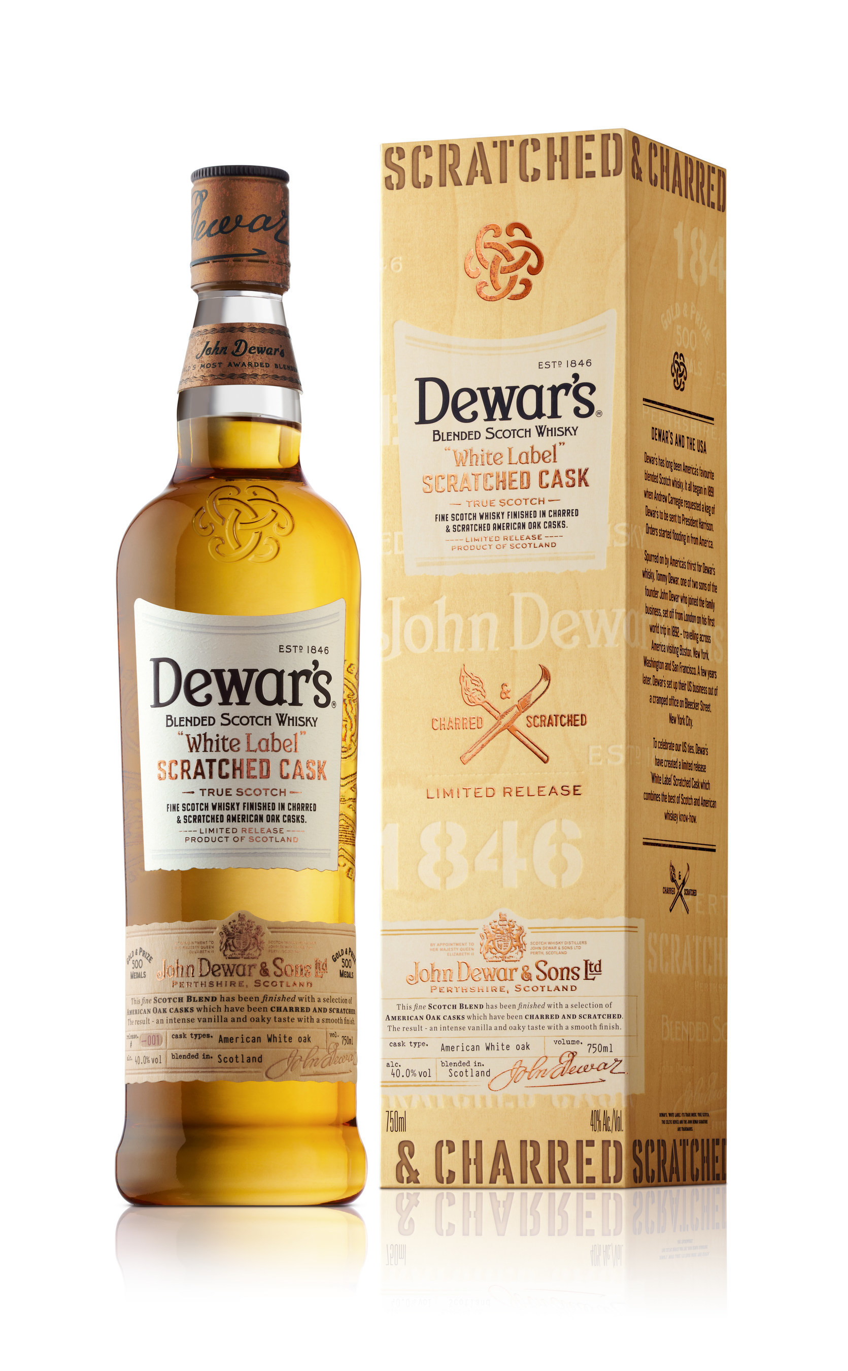 DEWAR'S REGULAR