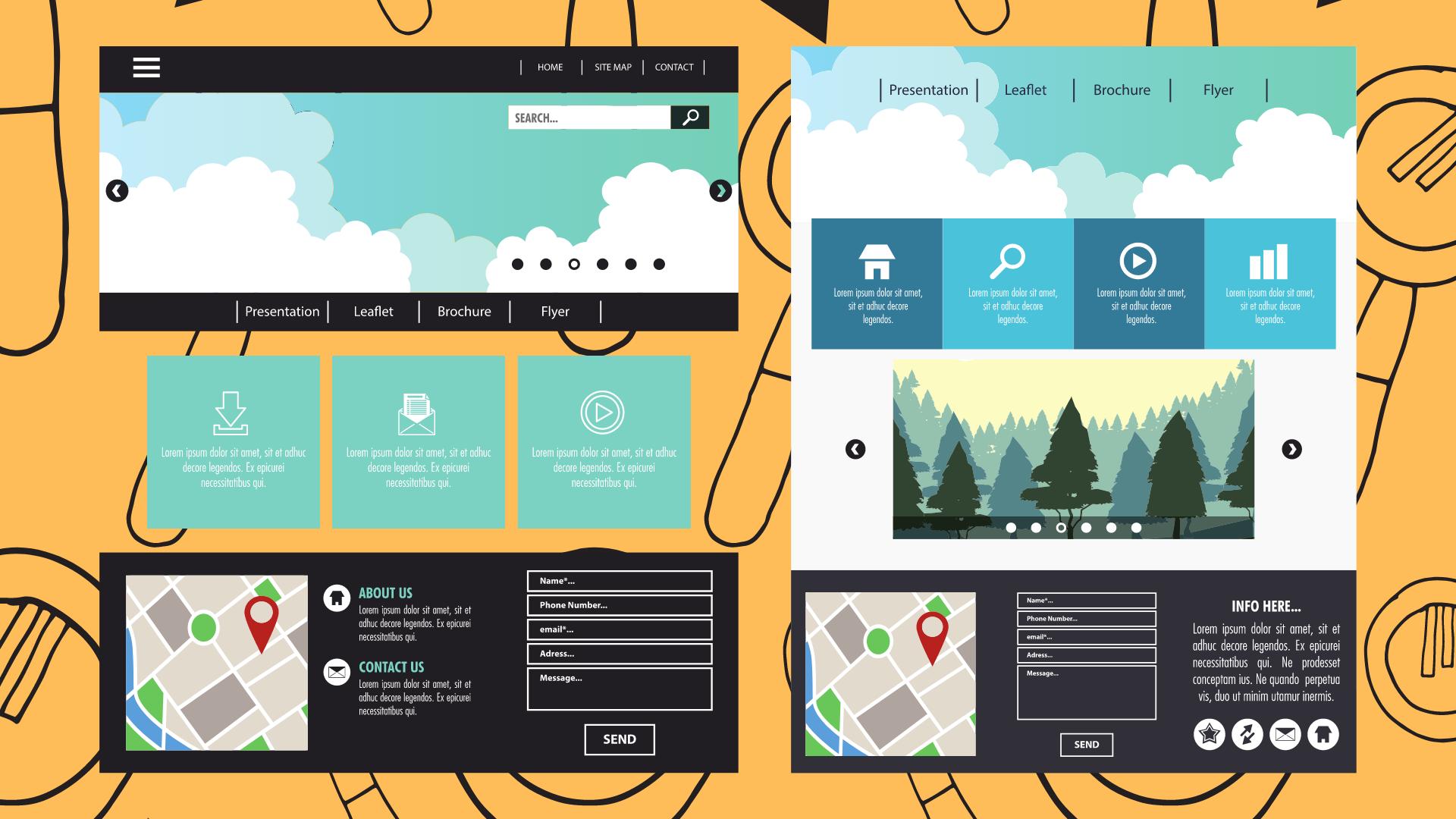 Como Crear una Estructura para tu Página Web