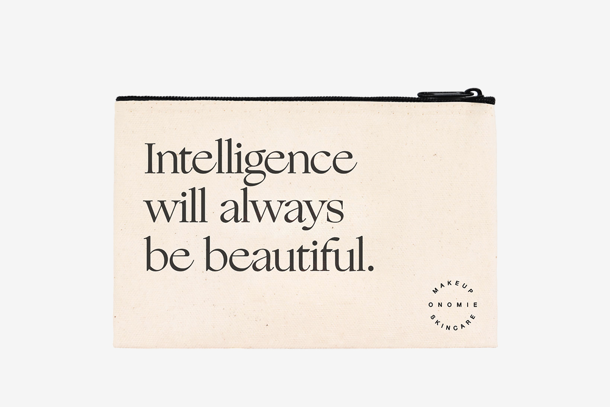Intelligence Cosmetic Bag