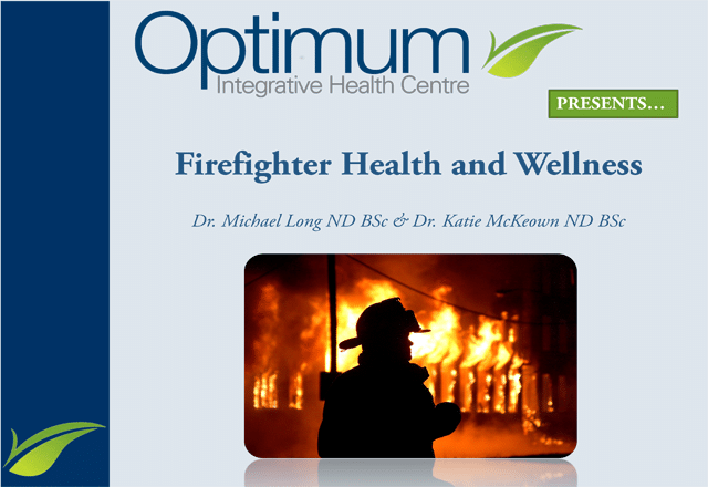 Firefighter Health and Wellness - Optimum Integrative