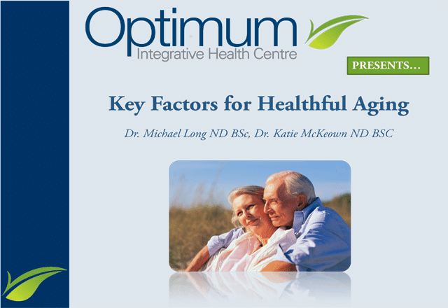 Healthy Aging - Optimum Integrative
