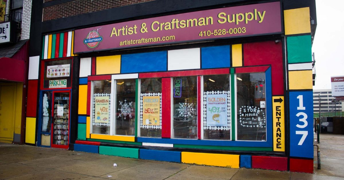 On The Grid Artists Craftmans Supply Baltimore