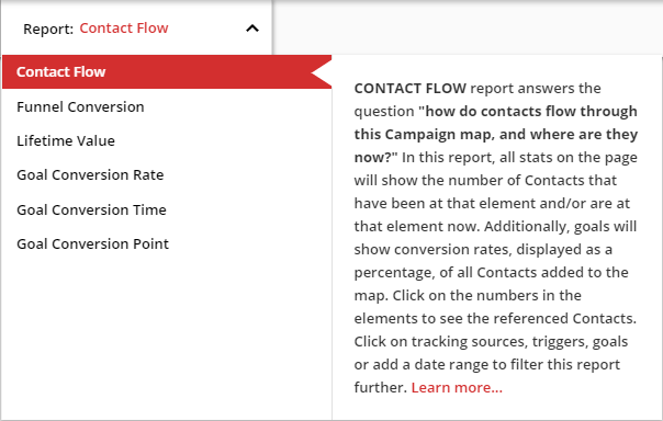 the description of contact flow reporting
