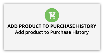 the add product to purchase history element