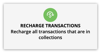 the recharge transactions element