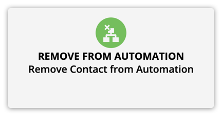 the remove from campaign element
