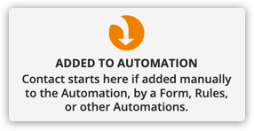 the added to campaign trigger element