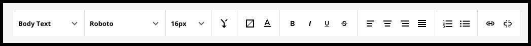 editor menu bar