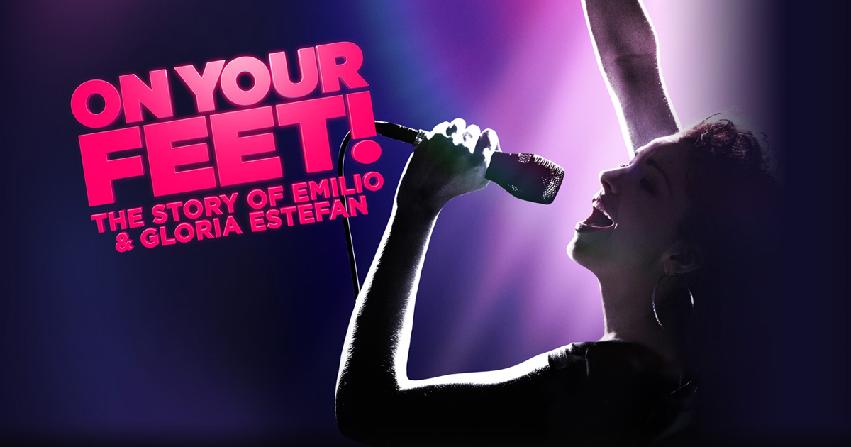 Image result for on your feet broadway