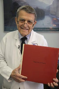 An opportunity to pay tribute to Dr. John E. Sarno