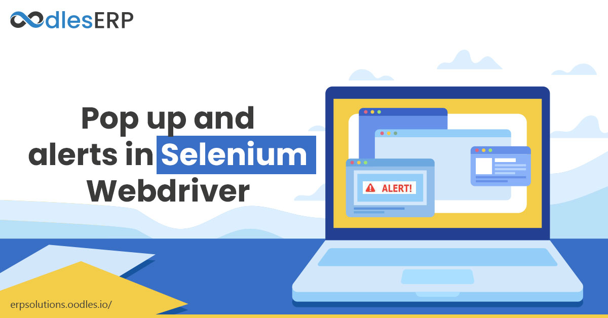 Pop up and alerts in Selenium Webdriver