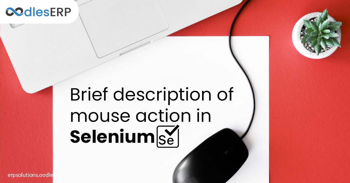 mouse action in selenium