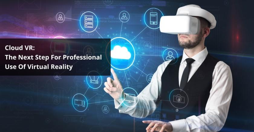 Cloud VR app development services