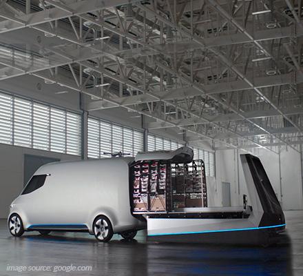 Vision Van Mercedes Benz IoT