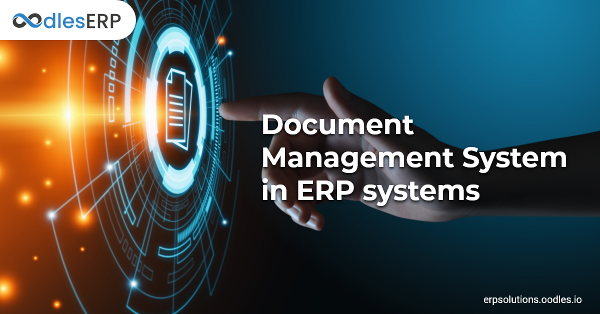 Document Management In an ERP System