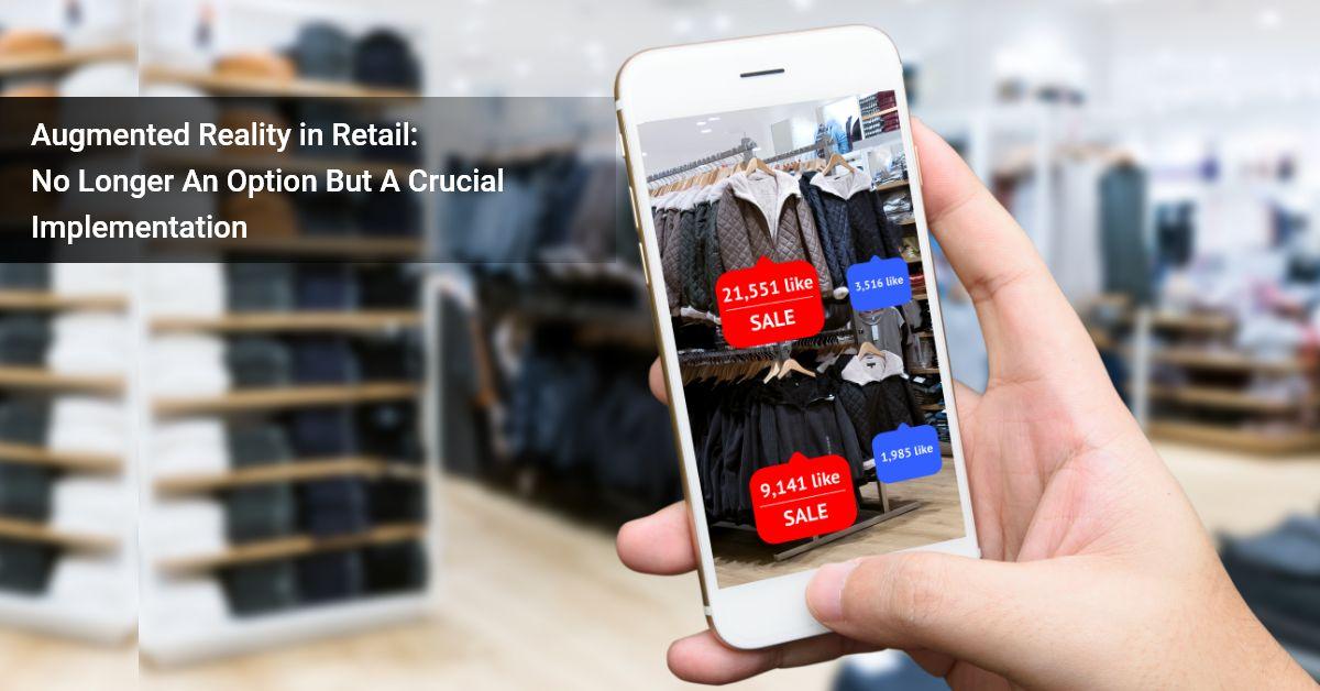 AR app development in retail